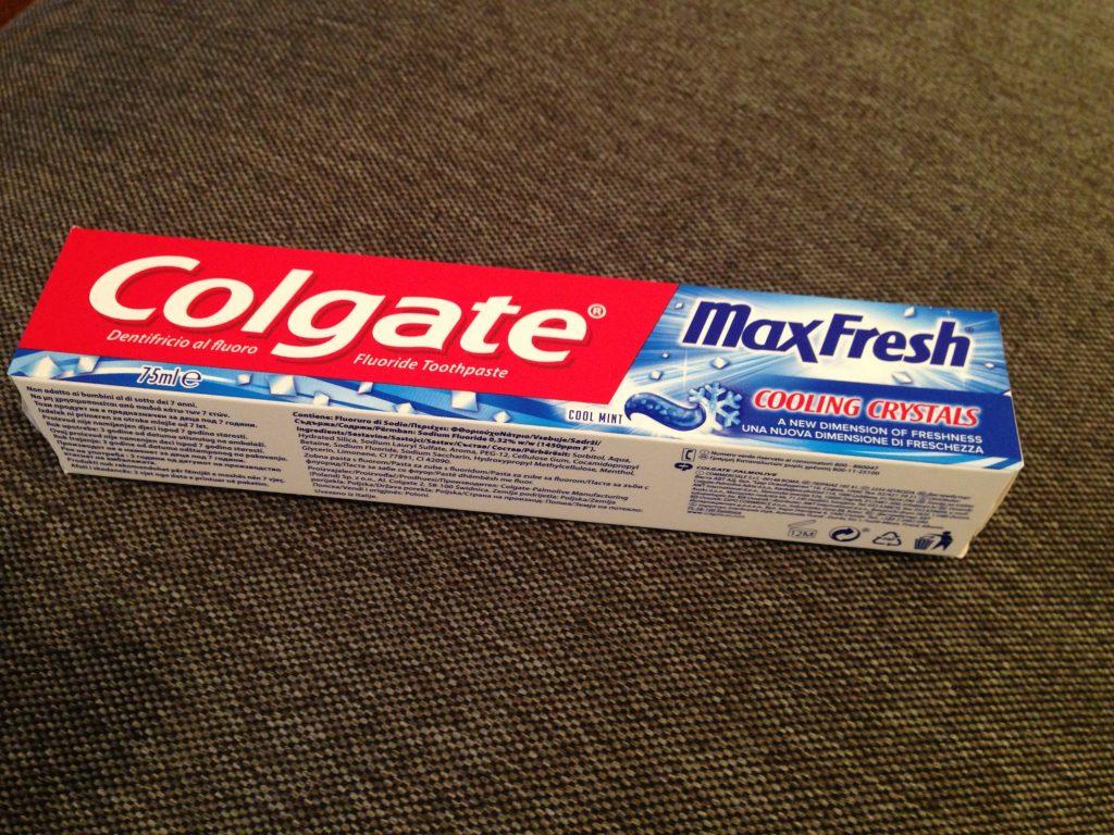 Maxfresh zobna pasta Colgate